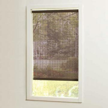 Home 73 in x72in Brown Cut-to-Size Solar shades