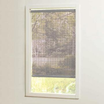 Home 37 in x72in Grey Cut-to-Size Solar shades