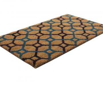 Home Grid Coir Door Mat