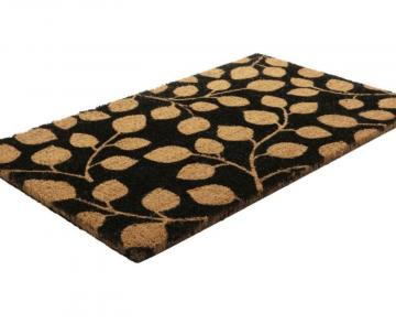 Home Leaf Me Alone Coir Door Mat