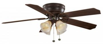 Hampton Bay Carriage House Iron Ceiling Fan - 52""