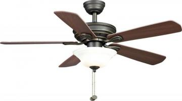 "Hampton Bay 44"" Wellston Oil Rubbed Bronze"