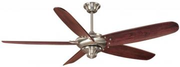 Hampton Bay Altura Brushed Nickel Ceiling Fan - 56""
