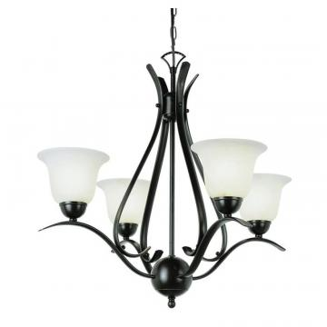 Hampton Bay Bronze Nested Mini Chandelier