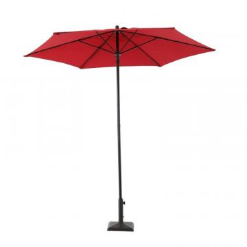 Hampton Bay 7.5 Feet. Steel Market Umbrella Red
