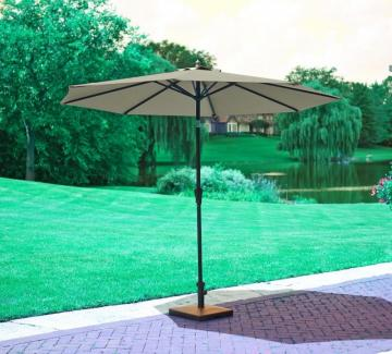 Hampton Bay 9' Ez Tilt Market Umbrella