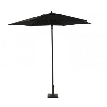 Hampton Bay 7.5' Steel Market Umbrella Blk