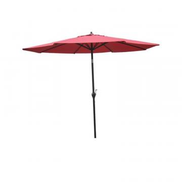 Hampton Bay 9' Aluminum Market Umbrella - Red