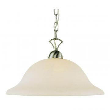 Hampton Bay Nickel Nested Bell Pendant