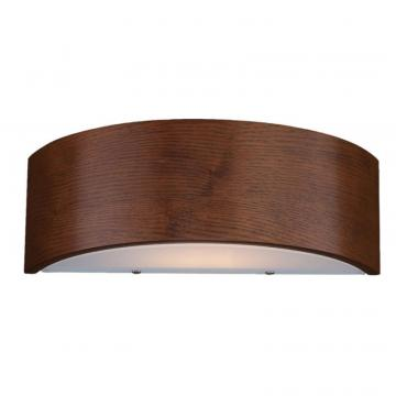Hampton Bay Dervish Collection 1-Light Mahogany Wall Sconce