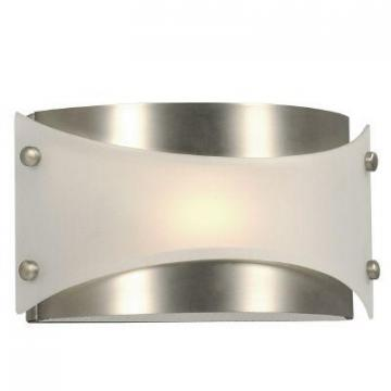 Hampton Bay Wall Light With Frosted Glass