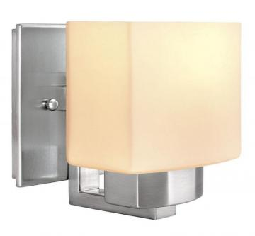 Hampton Bay Belmore Brushed Nickel Sconce