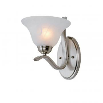 Hampton Bay Nickel Arch Wall Sconce