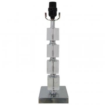 Hampton Bay Stacked Block Table Lamp