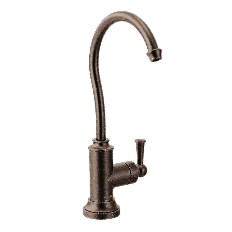 Moen Sip Traditional One-Handle High Arc Beverage Faucet, Oil Rubbed Bronze