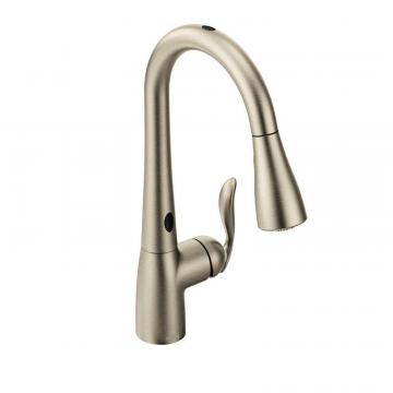 Moen Arbor With Motionsense One-Handle Pulldown Kitchen Faucet In Spot Resist Stainless