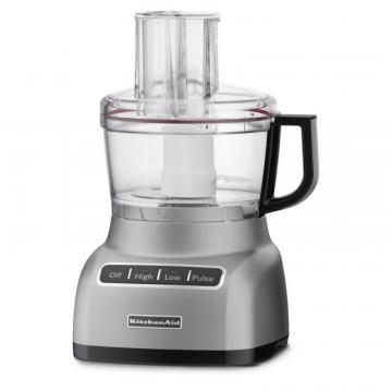 KitchenAid 7-Cup Food Processor Silver