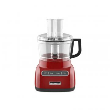 KitchenAid 7-Cup Food Processor Red