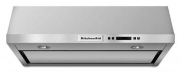 KitchenAid 30-inch, 600 CFM Under Cabinet Range Hood in Stainless Steel