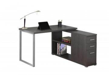 Monarch Computer Desk - Grey Left Or Right Facing Corner