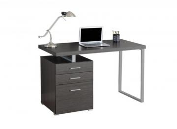 "Monarch Computer Desk - 48"" L / Grey Left Or Right Facing"