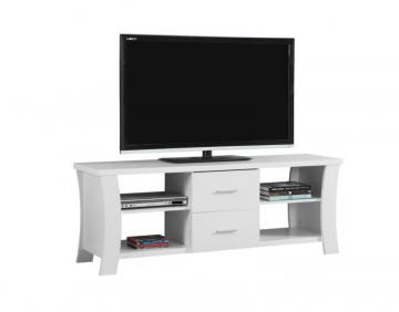 "Monarch TV Stand - 60"" L / White"