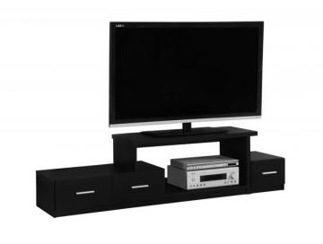 "Monarch TV Stand - 72"" L / Black"