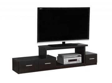 "Monarch TV Stand - 72"" L / Cappuccino"