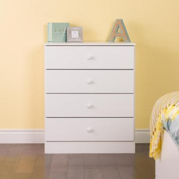 Prepac Astrid 6-Drawer Dresser, White