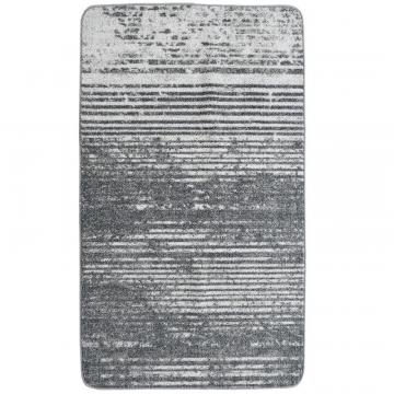 Lanart Grey City Stripe Mat - 2' x 4'