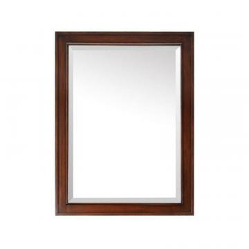 "Avanity Brentwood 24"" Mirror in New Walnut Finish"