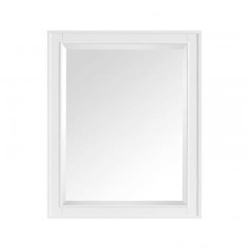 "Avanity Madison 28"" Mirror In White Finish"