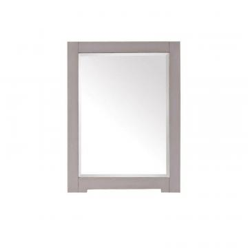 "Avanity Kelly 24"" Mirror in Grayish Blue"