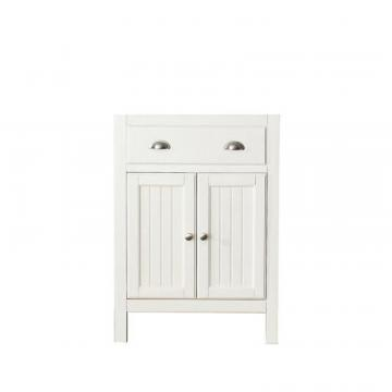 "Avanity Hamilton 24""  Vanity Cabinet in French White"