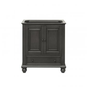 "Avanity Thompson 30""  Vanity Cabinet in Charcoal Glaze"