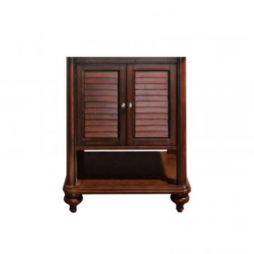 "Avanity Tropica 24""  Vanity Cabinet in Antique Brown"