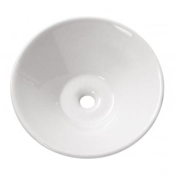 "Avanity 16 1/2"" Round Vitreous China Vessel Sink in White"
