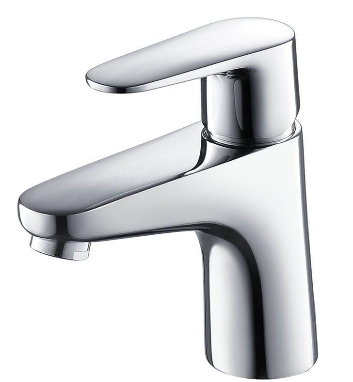 Fresca Diveria Single Hole Mount Bathroom Vanity Faucet in Chrome Finish