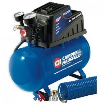 Campbell Hausfeld Air Compressor, Horizontal, 110 PSI, 2-Gals.