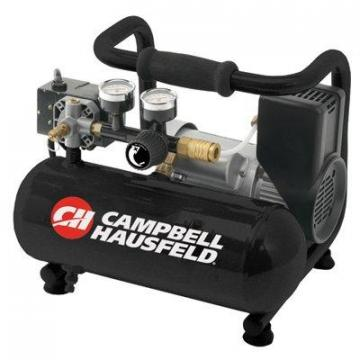 Campbell Hausfeld Contractor Series Air Compressor, Oil-Free, 125 PSI, 1-Gal.