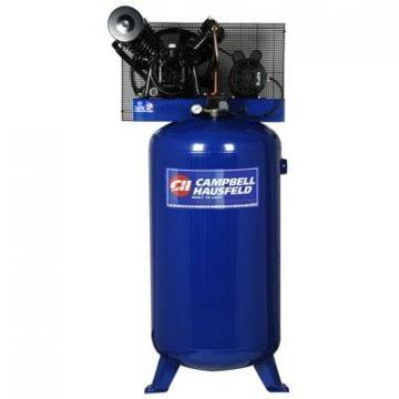Campbell Hausfeld Air Compressor, Vertical, 5-HP, 2-Stage, 80-Gal.