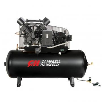 Campbell Hausfeld Air Compressor, 120 Gallon  52.4CFM 15HP 208-230/460V 3PH (CE8003)
