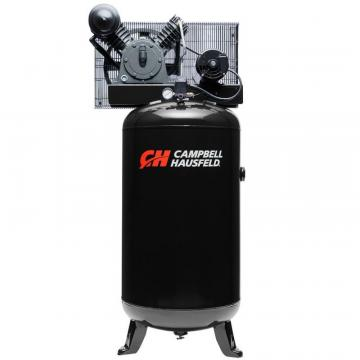 Campbell Hausfeld Air Compressor, 80 Gallon  14CFM 5HP 208-230V 3PH (CE3001)