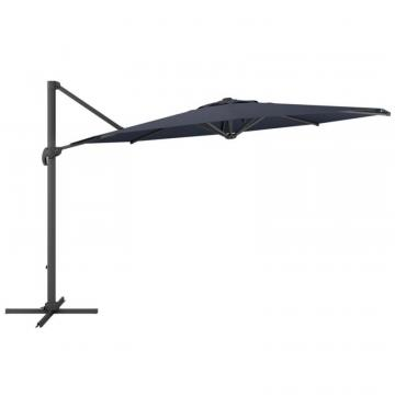 Corliving Deluxe Offset Patio Umbrella in Black