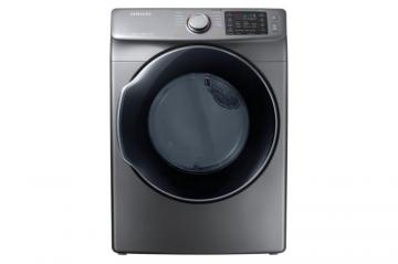 Samsung 7.5 cu.ft. Electric Dryer with SteamDry in Platinum