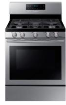 Samsung 5.8 cu. ft. Free-Standing Convection Gas Range in Stainless Steel