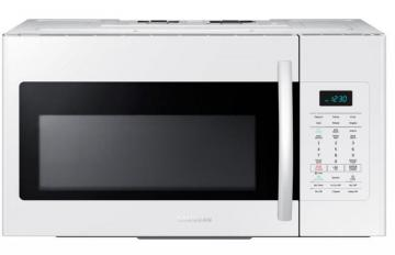 Samsung 1.7 cu. ft. Over-the-Range Microwave Hood Combo in White