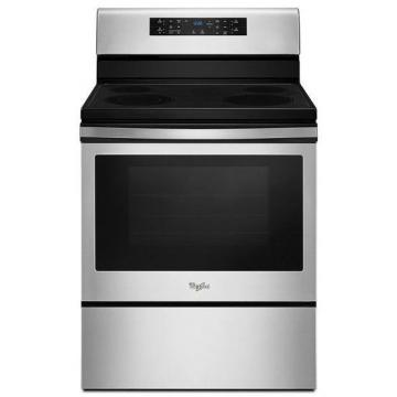 Whirlpool 5.3 cu. Feet Electric Convection Range with Guided Cooktop Controls