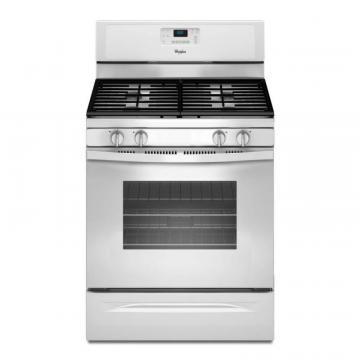 Whirlpool 5.0 Cu. Feet Freestanding Gas Range with AccuBake Temperature Management System