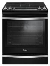 Whirlpool 5.8 Cu. Feet Slide-In Gas Range with Center Oval Burner